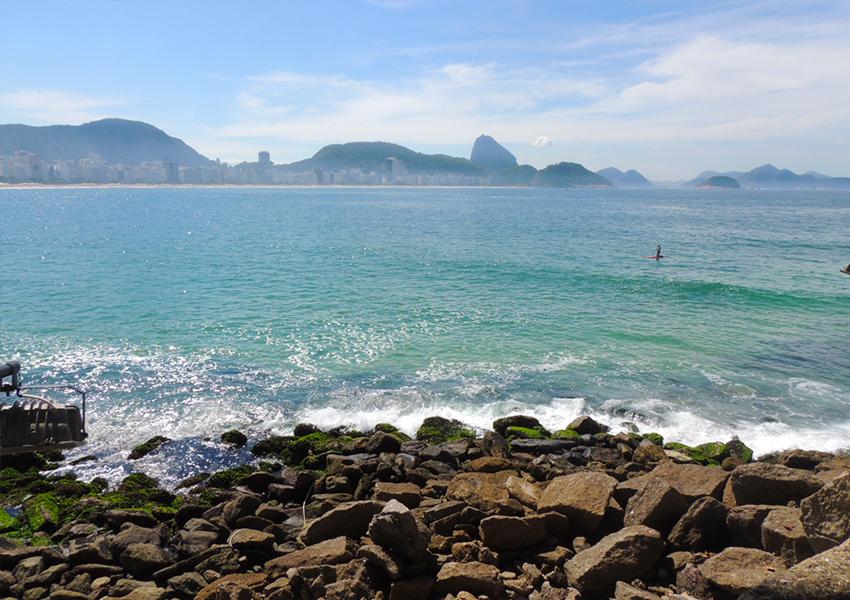 Vista do Forte de Copacabana