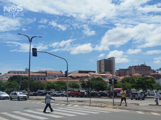 Chegada ao Centro Histórico de São Luís