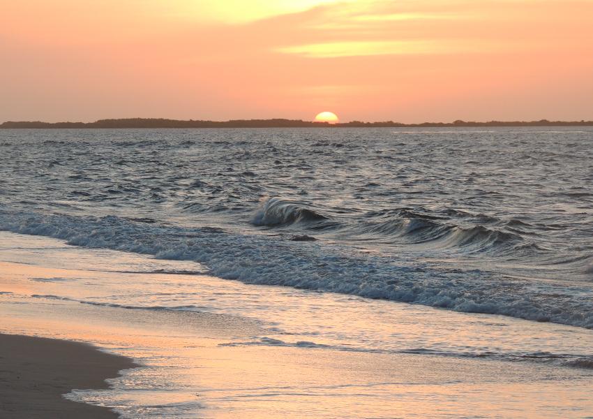 Pôr-do-sol em Atins