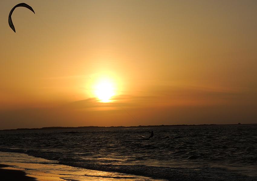 Kitesurf em Atins