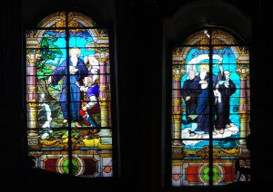 Vitrais da igreja