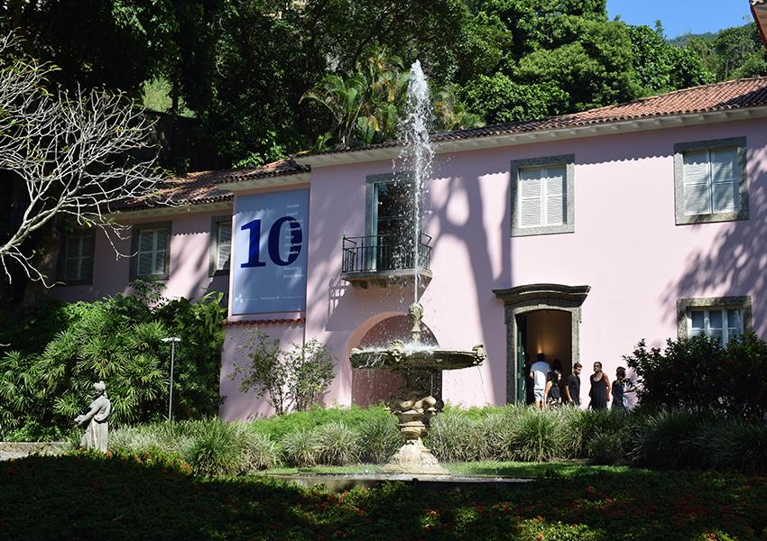 Casa do Roberto Marinho e seu imponente chafariz