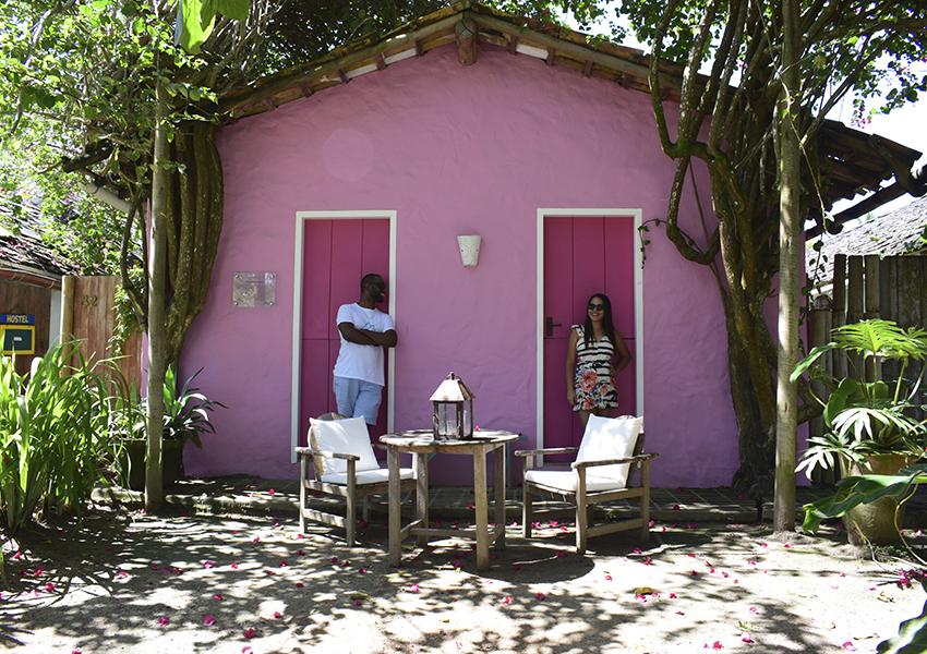 Trancoso Bahia: Casinhas coloridas trazem muito charme para o lugar