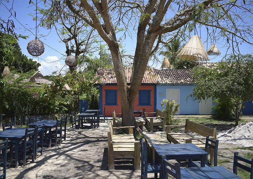Trancoso - Bahia: Quadrado e seu charme.