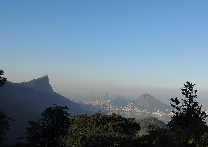 Vista Chinesa: vista incrível da cidade do Rio de Janeiro.